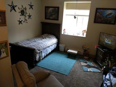 New building bedroom